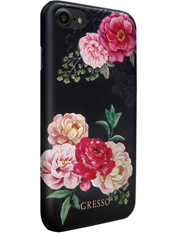 Victorian Garden - Pink Rose Snap On Case -  iPhone 7
