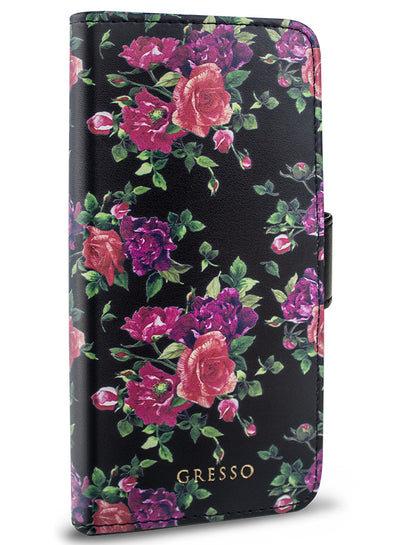 Victorian Garden -  Burgundy Roses Wallet -  iPhone 7