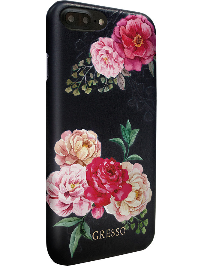 Victorian Garden -  Pink Roses Snap On Case -  iPhone 7 Plus