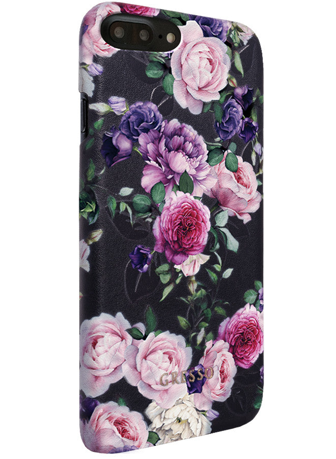 Victorian Garden -  Purple Rose Snap On Case -  iPhone 6/6S/7 Plus