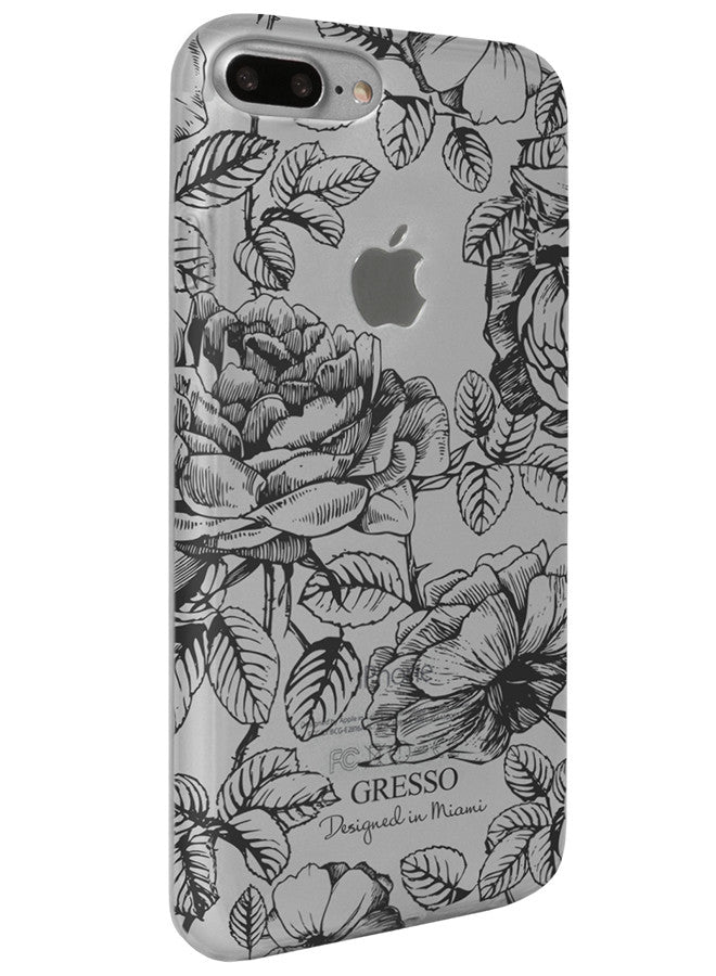 Harmony - Black Roses Snap-On Case - iPhone 7 Plus
