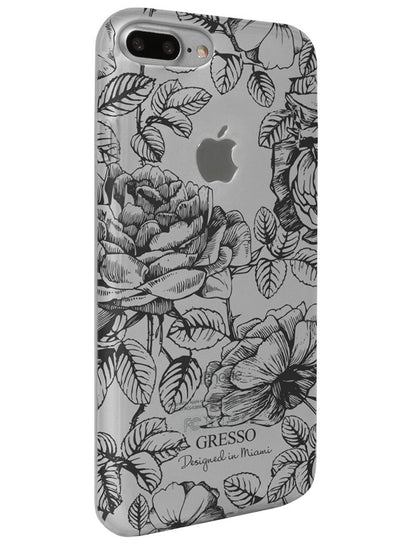 Harmony - Black Roses Snap-On Case - iPhone 6/7 Plus