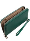 Valencia in Emerald Green Clutch