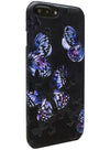 Flutter - Butterfly Stamping Leather Snap-On Case - iPhone 6/7 Plus
