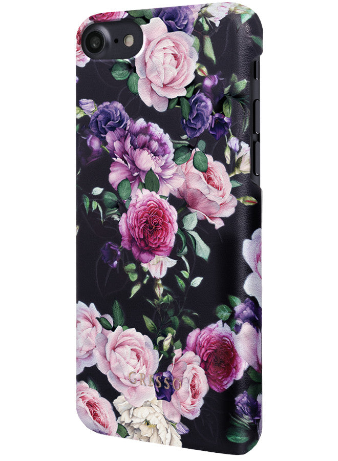Victorian Garden - Purple Rose Snap On Case -  iPhone 6/6S/7