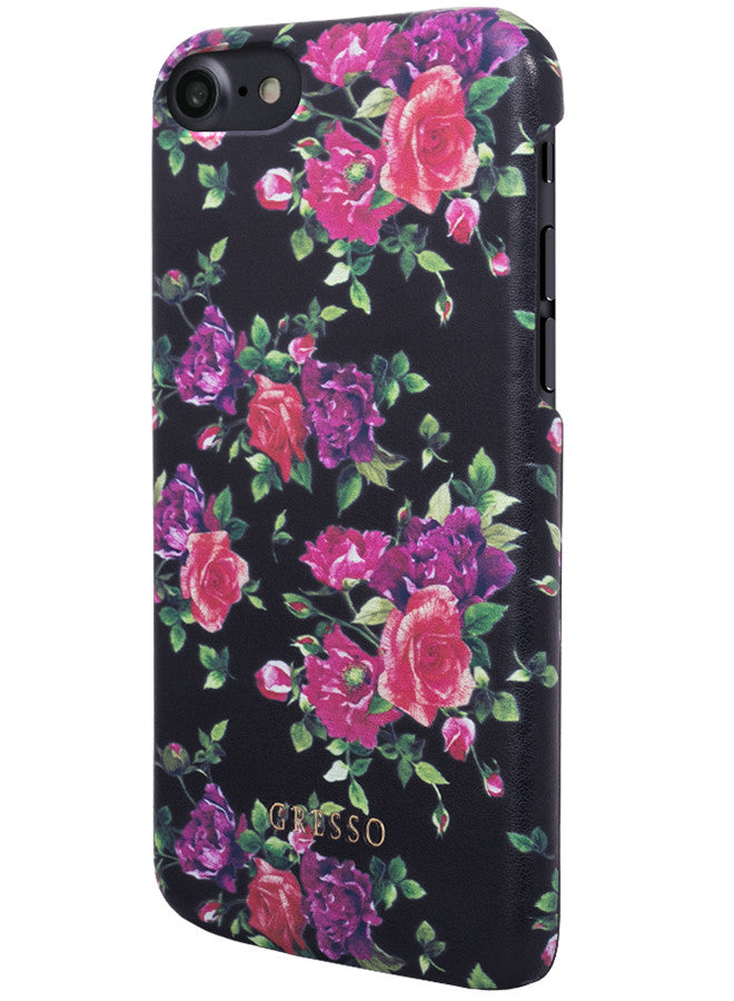 Victorian Garden -  Burgundy Roses Snap On Case -  iPhone 7