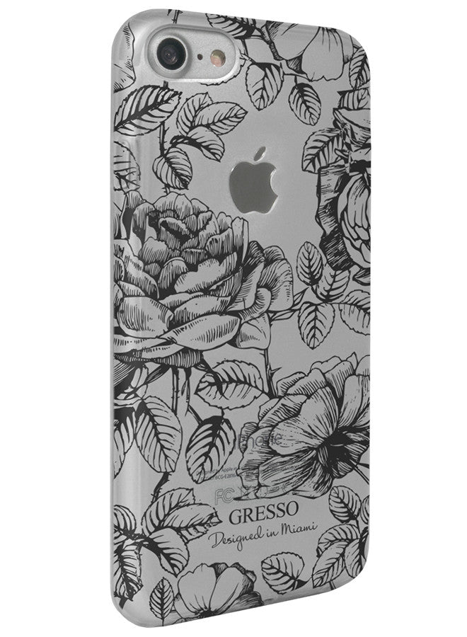 Harmony - Black Roses Snap-On Case - iPhone 7