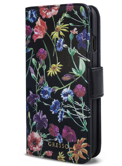 Victorian Gardens Wildflowers Wallet - iPhone 6/7 Plus