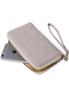 Miracle in Cream Pearl Clutch