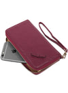 Valencia in Burgundy Clutch
