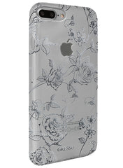 Harmony - Silver Roses Snap-on Case - iPhone 6/7 Plus