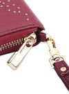 Constellation in Burgundy Clutch