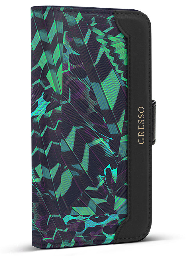 Midnight Tropics - Grove in Green Wallet - iPhone 7