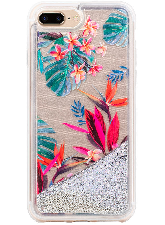 Jungle Glitter - Oasis Snap-on Case - iPhone 7 Plus