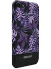 Midnight Tropics - Palmetto in Purple Snap-on Case - iPhone 6/6S/7