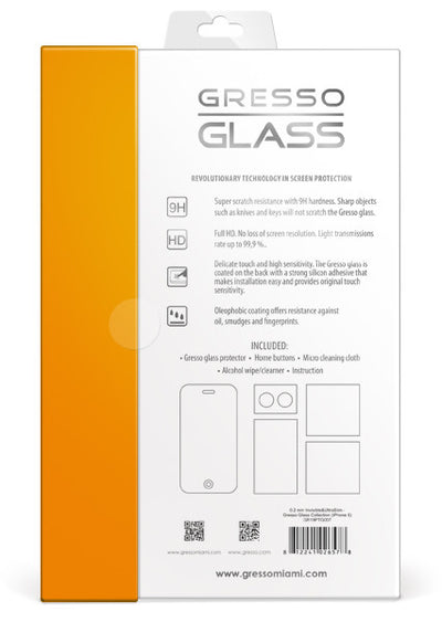 Gresso Glass - Ultra Slim Screen Protector - iPhone 6/6s/7 Plus