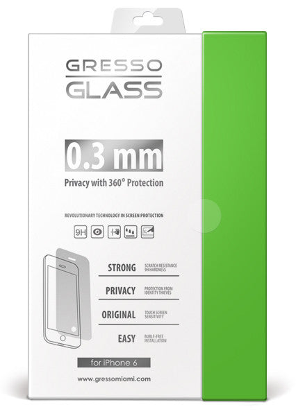 Gresso Glass - Privacy Screen Protector - iPhone 6/6s/7 Plus