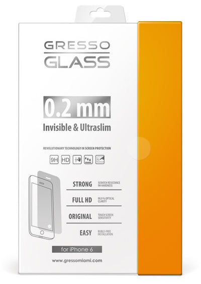 Gresso Glass - Ultra Slim Screen Protector - iPhone 6/6s/7