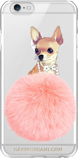 iPhone 7 Snap-On Case FURBABY/Chihuahua