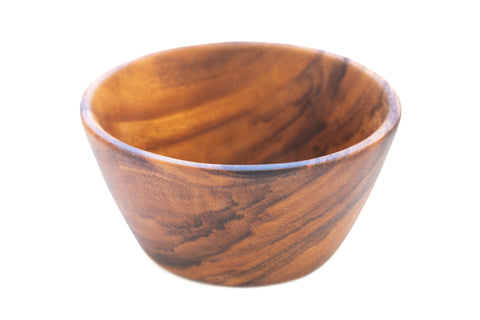 Acacia Wood Snack Bowl