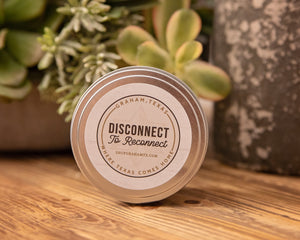 Disconnect to Reconnect Candle