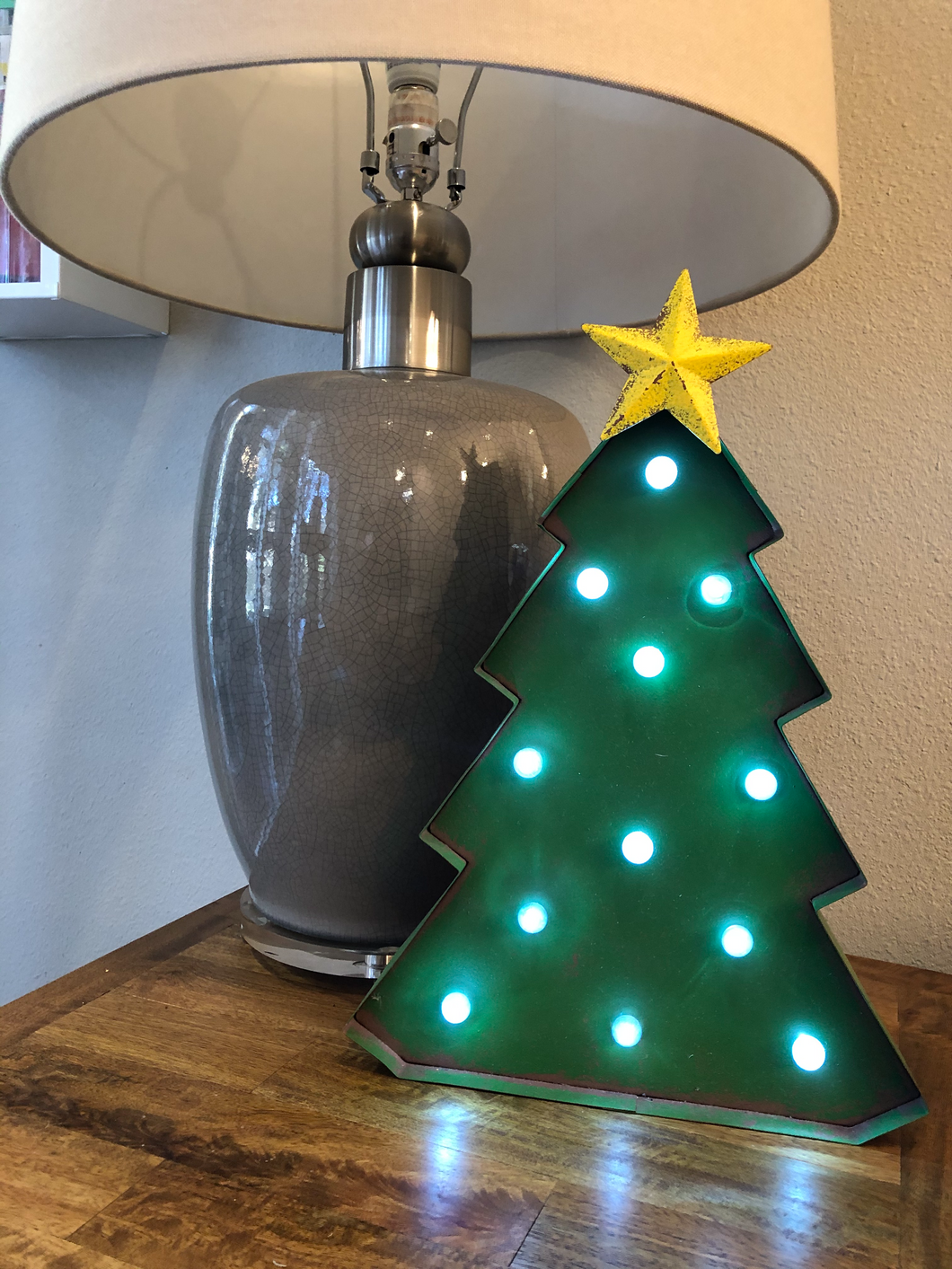 Metal Christmas decor
