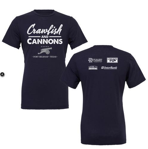 Crawfish and Cannons Shirt