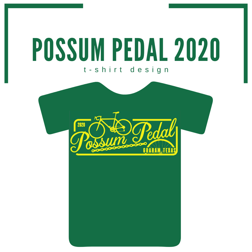Possum Pedal 2020 Signature T-Shirt