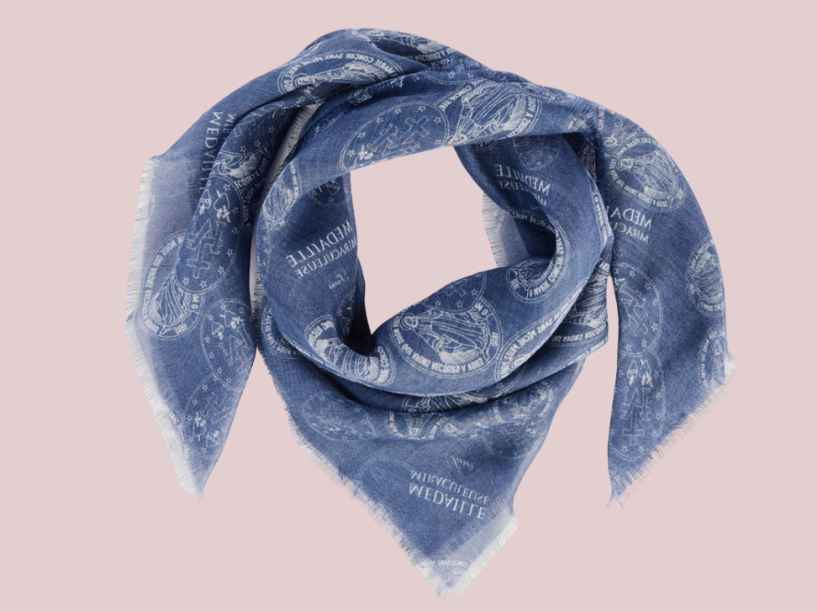 Miraculous Medal Scarf *AVAILABLE FOR PRE-ORDER*