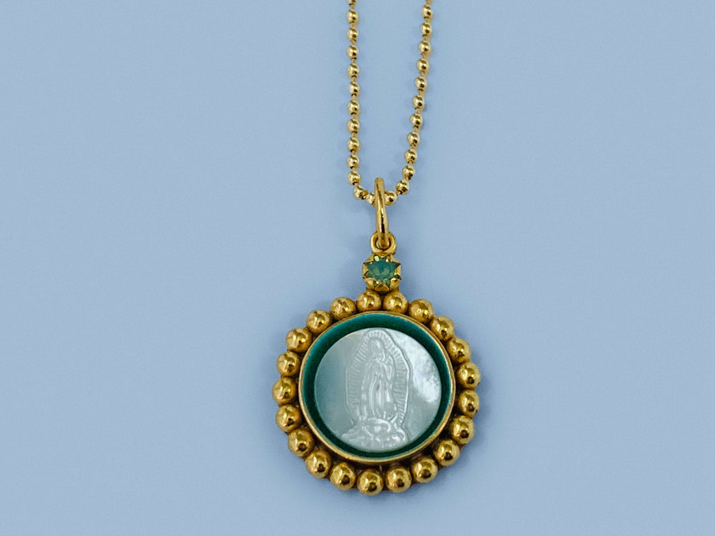 Our Lady of Guadalupe Catholic Necklace