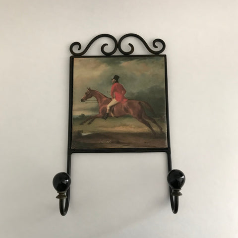 Horse & Jockey Wall Hook