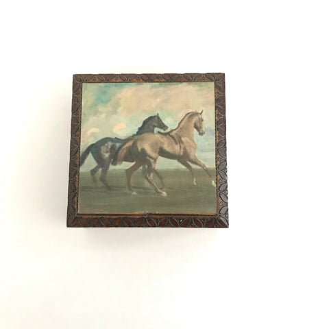 Galloping Free Wooden Box
