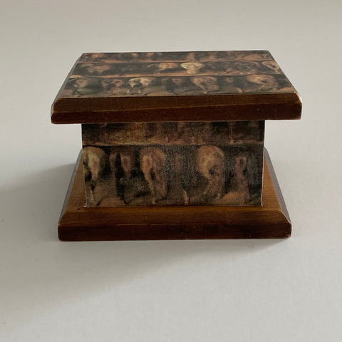 Whimsical Wee Horse Butts Box