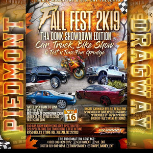 "11/16/19 Car Show | Fall Fest 2K19 | Come check out Franklin's Ford Excursion ""The Sexcursion"""