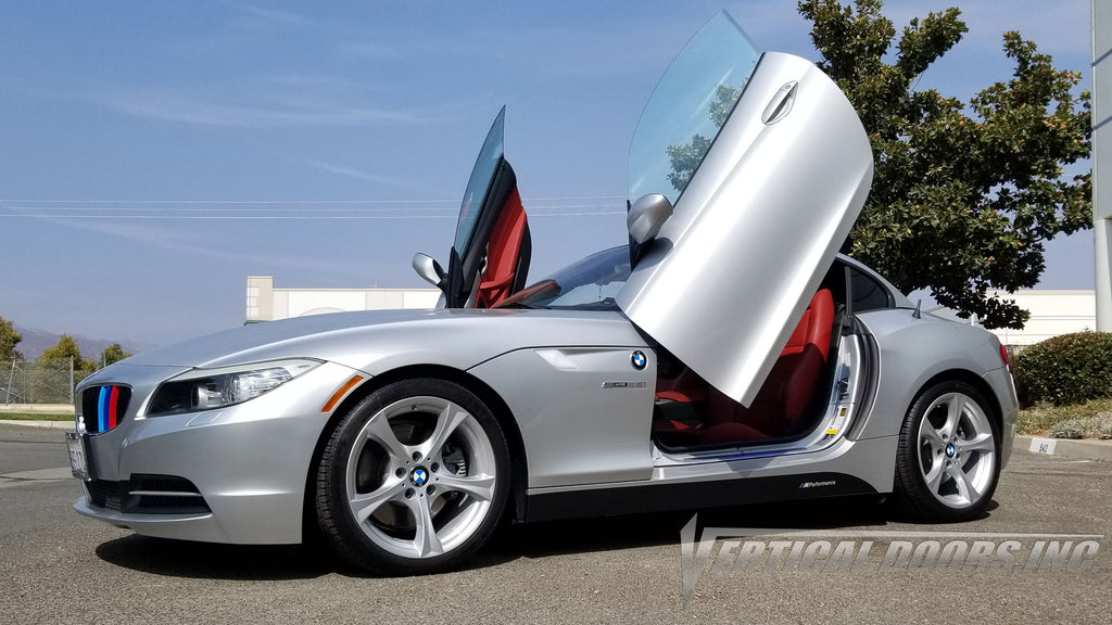 BMW Z4 2009-2016 Lambo Door Conversion Kit by Vertical Doors Inc. Coming soon!