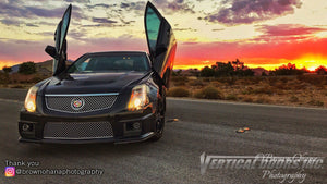 Check out Jonathan's 2nd Gen Cadillac CTS from Las Vegas, NV featuring Vertical Lambo Doors Conversion Kit from Vertical Doors, Inc.