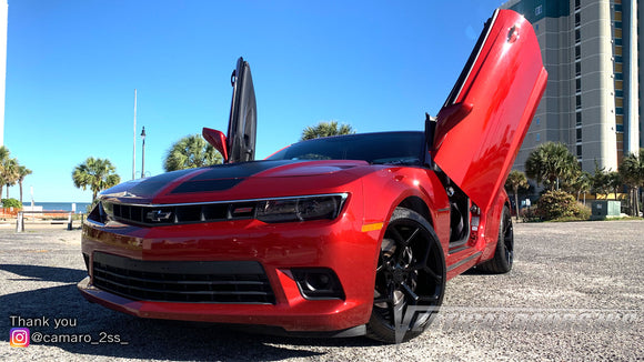 Check out Mackenzie's 5th Gen Chevrolet Camaro from South Carolina with Vertical Lambo Doors Conversion Kit for Vertical Doors, Inc.