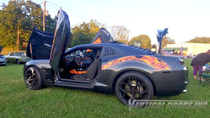 Check out Henry's Chevrolet Camaro 5thGen featuring Vertical Lambo Doors Conversion Kit from Vertical Doors, Inc.