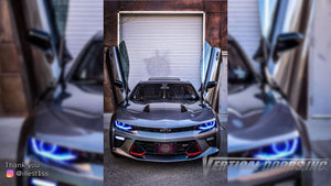 Check out Andrews @illest1ss Chevrolet Camaro 2016-2020 Lambo Door Conversion from Texas by Vertical Doors Inc.