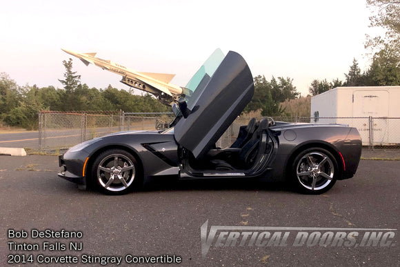 Bob's C7 Convertible Corvette with Vertical Doors