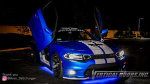 Check out Paul's @Ares_392charger Dodge Charger from California featuring Lambo Door Conversion Kit by Vertical Doors Inc.