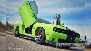 Check out Josue's @Salviboy_srt392 Sublime Dodge Challenger from Nebraska featuring Lambo Door Conversion Kit by Vertical Doors Inc.