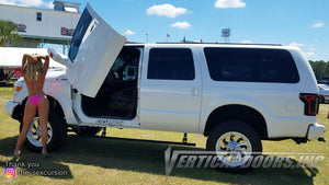 "Franklin's Ford Excursion ""The Sexcursion"" Featuring Vertical Lambo Doors on all 4 doors"