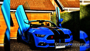 Check out Simon's Ford Mustang from England featuring Vertical Lambo Doors Conversion Kit from Vertical Doors, Inc.