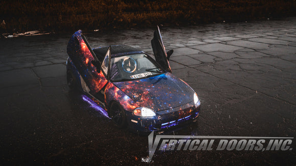 Spoiler Down Speed Shop | Philadelphia, PA | Honda Del Sol 1993-1997 Vertical Lambo Doors Conversion Kit