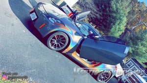 Dustin's Nissan 350Z with Vertical Lambo Doors by Vertical Doors, Inc.