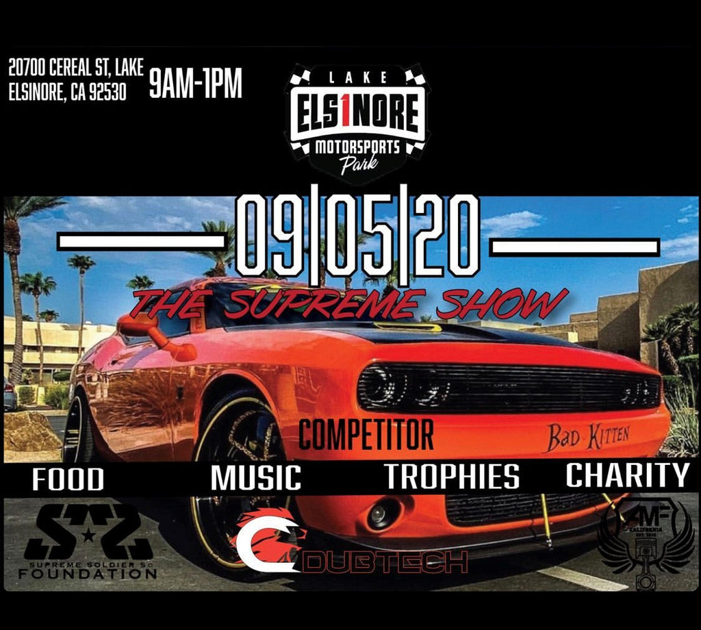 THE SUPREME SHOW 9/5/20 Come out and check out @kitten_challenger showing off her vertical lambo doors from Vertical Doors, Inc.