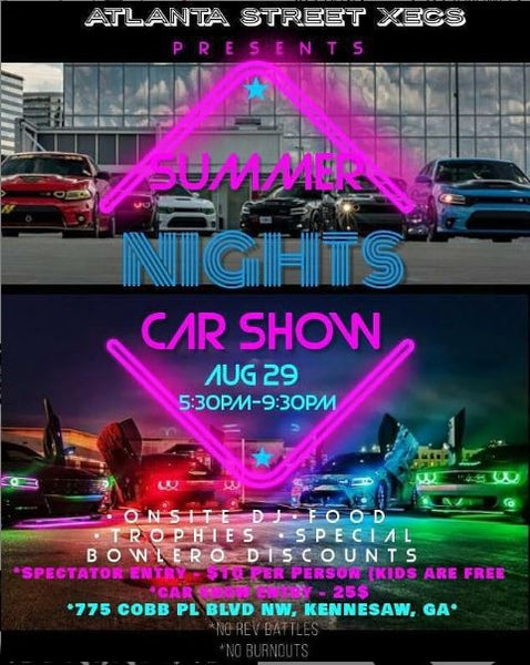 Come and hang out with @392_ghostryder and @atlanta_street_xecs at the SMD + STREET XECS CAR SHOW & MEET AUGUST 29th, 2020