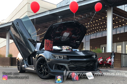 SlowSixxer14's Chevrolet Camaro with Vertical Lambo Doors
