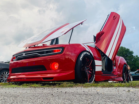 Ralph's Supercharged Chevrolet Camaro with Vertical Lambo Doors by Vertical Doors, Inc.